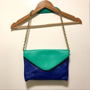 J. Crew Dual Color Purse